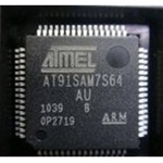 AT91SAM7S64 ARM Microcontrollers - MCU 64K Flash SRAM 16K ARM based MCU