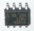 INA128 SMD Instrumentation Amplifiers Precision Low Power Instrumentation Amp