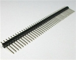 1x40 straight pin single row pin total height of 15mm
