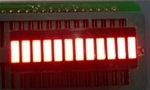 12 Segment Light Bar Graph LED Display - Red