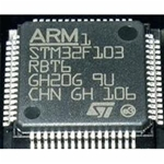 STM32F103RBT6 ARM Microcontrollers - MCU 32BIT Cortex M3 128K FLASH 20KB RAM