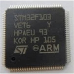 STM32F103VET6 ARM Microcontrollers - MCU 32BIT Cortex M3 512B Flash 100pin