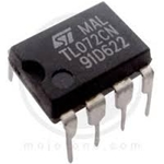 TL072 DIP Operational Amplifiers - Op Amps Dual Lo-Noise JFET Input Op Amp