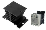 Aluminum Heat Sink for Solid State Relay 10-30A