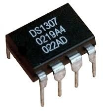 DS1307 DIP Real Time Clock 64x8 Serial I2C RTC