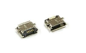 Micro USB female 5-pin SMD