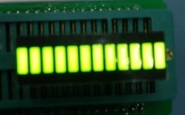 12 Segment Light Bar Graph LED Display - Green