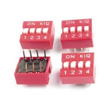 4P DIP switch