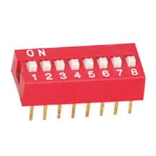 8P DIP switch
