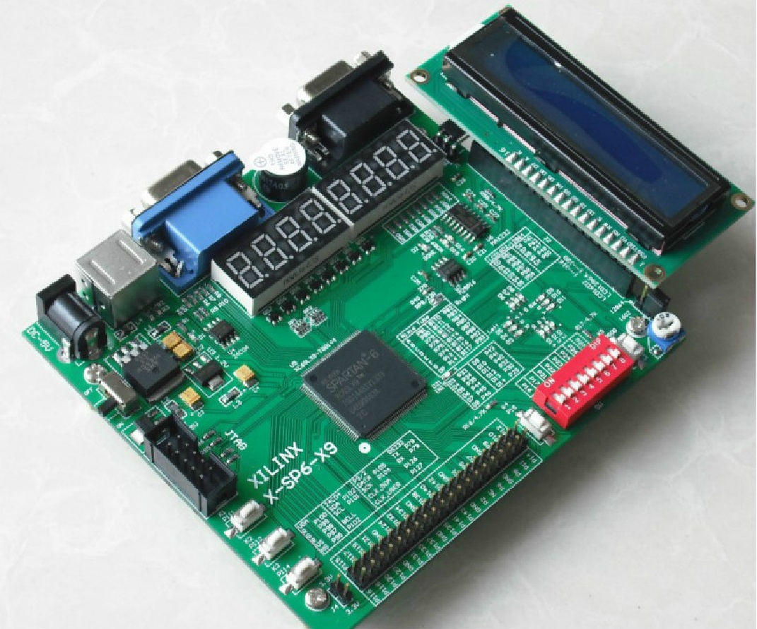 Xilinx fpga development board / learning board Spartan-6